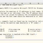 Windows ネットワーク設定「hostsファイル」の設定方法